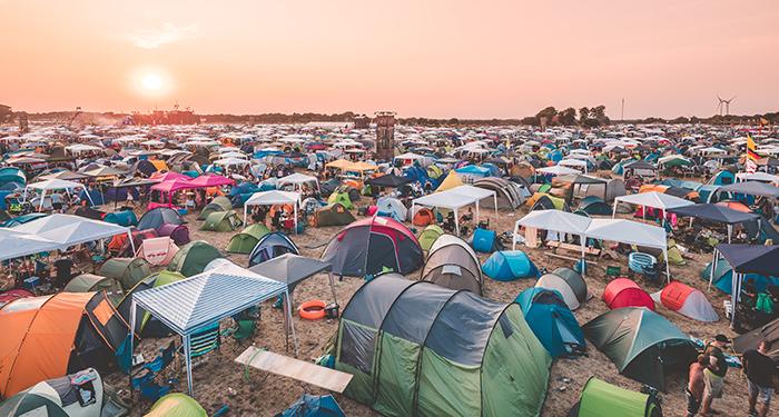 Area de Camping Parookaville Festival
