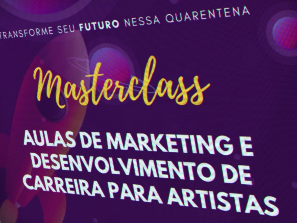 The Boreal Agency masterclass gratuita de carreira e Marketing para artistas