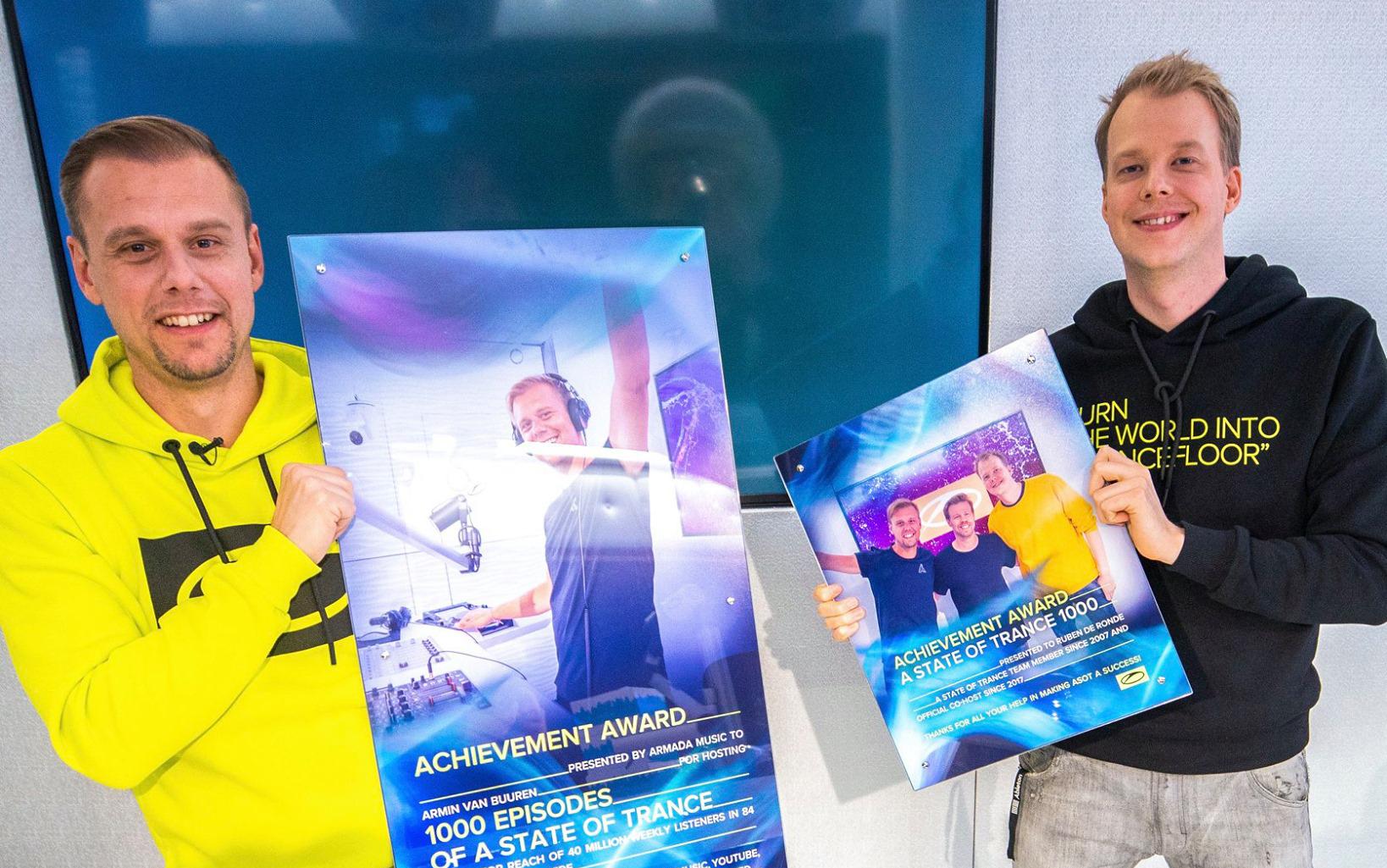 Armin van Buuren atinge 1000 episódios no ASOT e divulga lançamento do evento de 2 dias que acontecerá em setembro