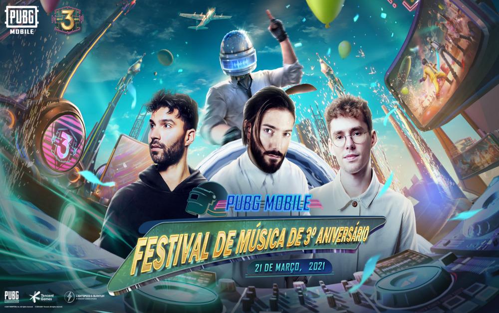Alesso Lost Frequencies e R3HAB lançam novas tracks para o 3o aniversário de PUBG Mobile