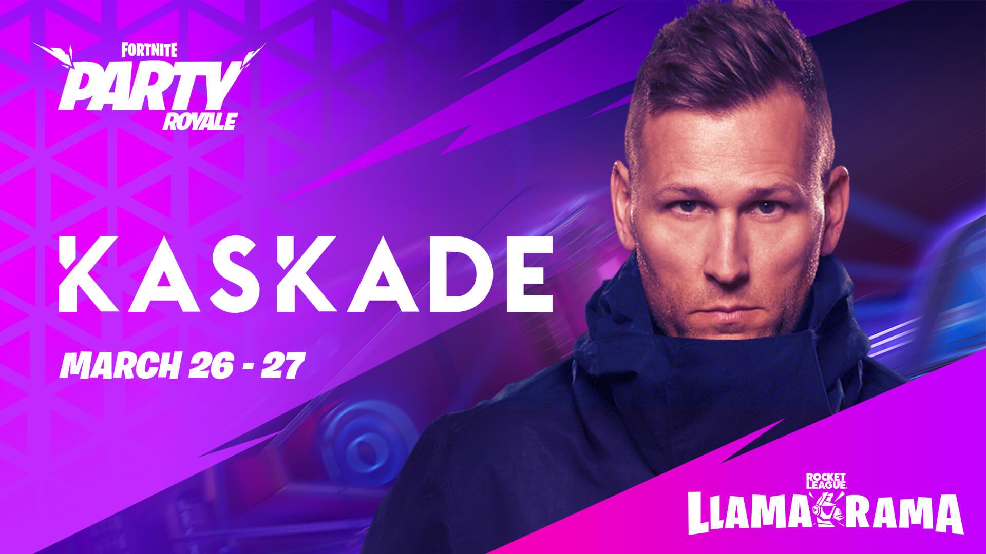 Kaskade fará show no Fortnite neste fim de semana