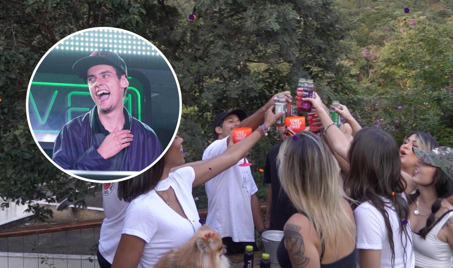 PREMIERE Jacarandá de Vitor Kley e Vitão ganha remix oficial do RQntz com direito a videoclipe vibez